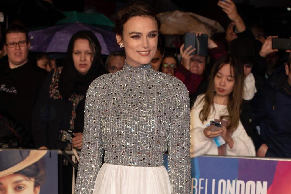 Keira Knightley at Colette premiere