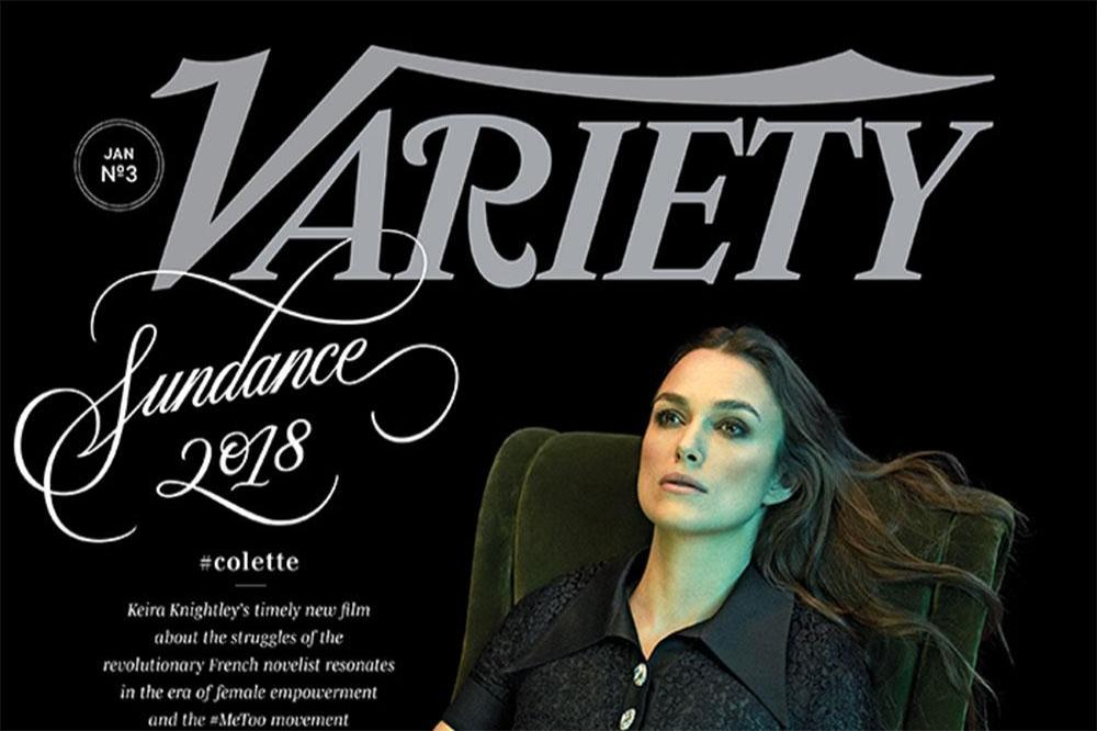 Keira Knightley for Variety magazine