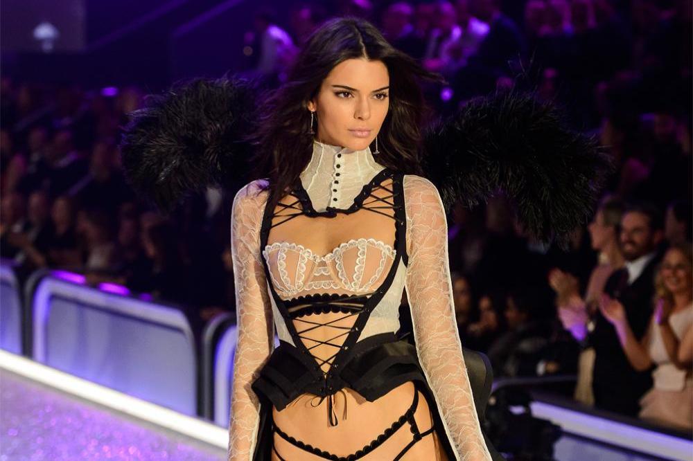 c550b23049 The Kardashians support Kendall Jenner s Victoria s Secret Fashion ...
