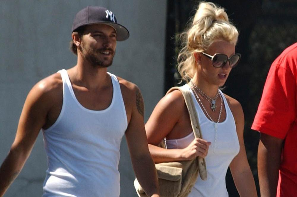 Kevin Federline and Britney Spears during their marriage