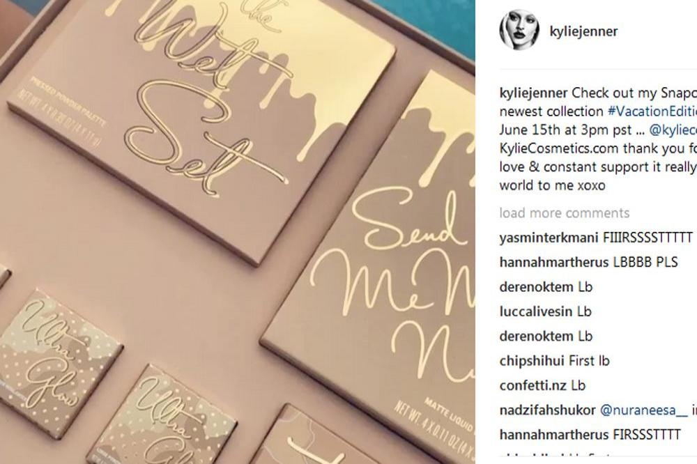 Kylie Jenner Will Release New Make Up Line This Week