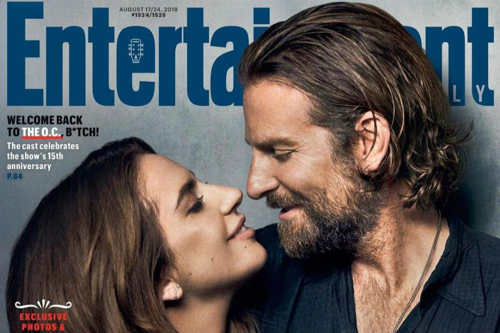 Lady Gaga and Bradley Cooper in Entertainment Weekly
