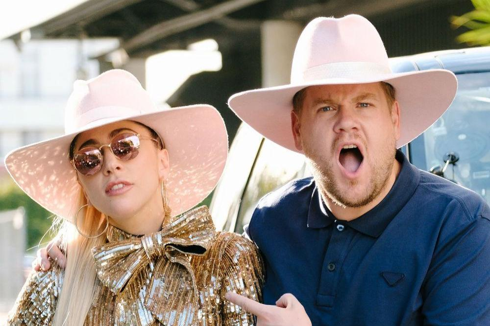 Lady Gaga and James Corden [Twitter]