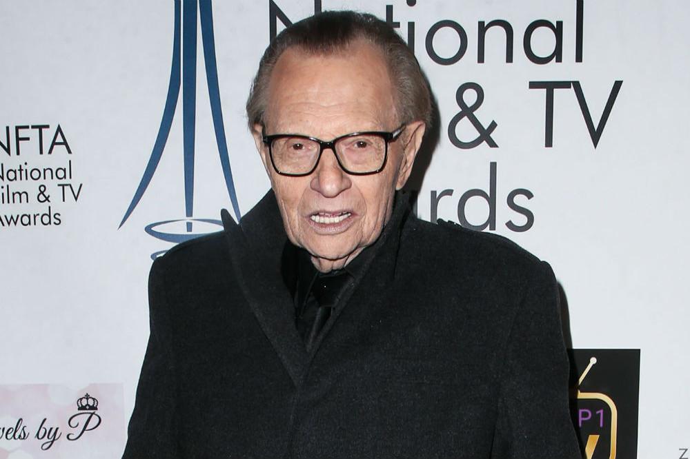 Larry King hospitalised with coronavirus, reports say