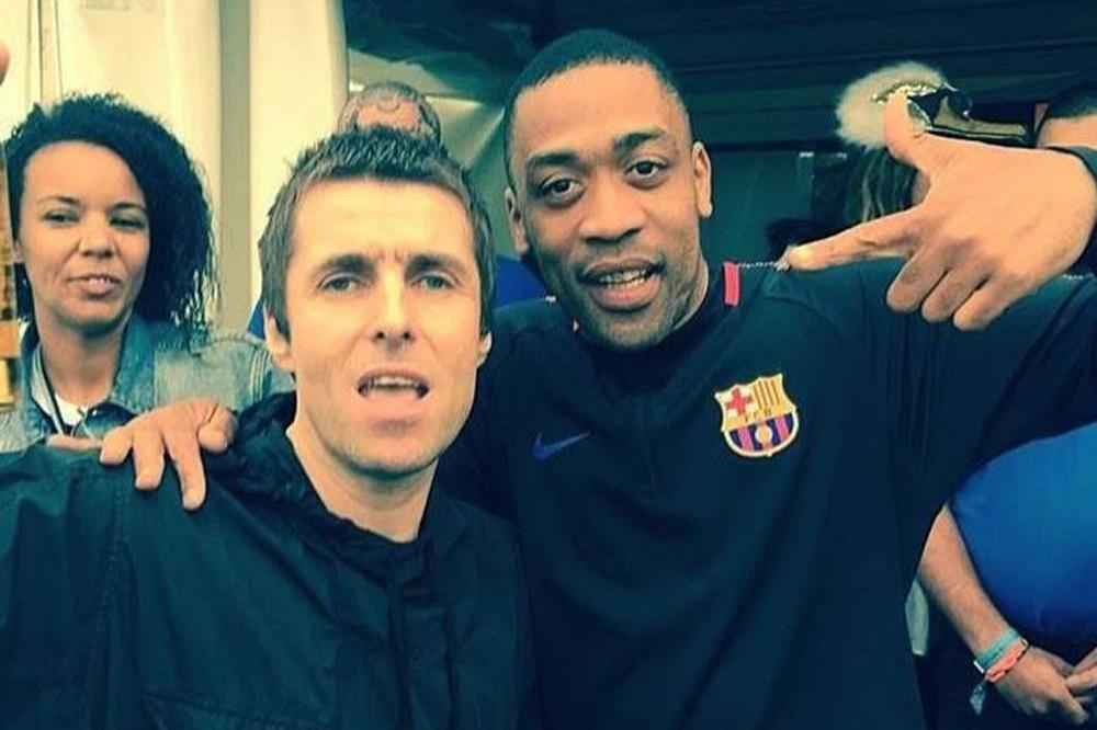 liam gallagher parties with grime stars wiley and stormzy at glastonbury