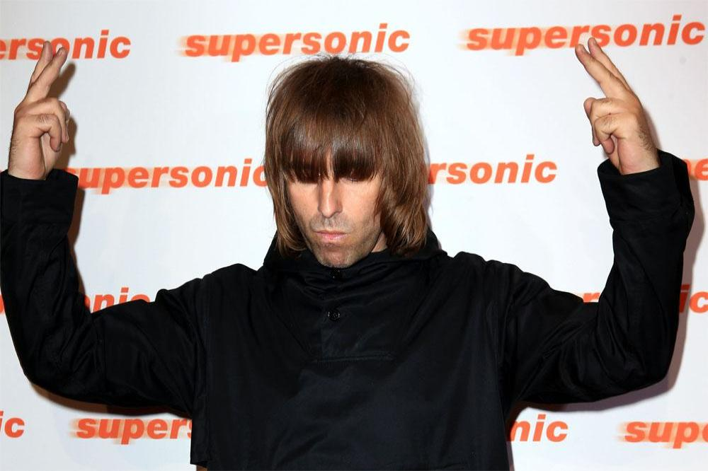 Liam Gallagher at Supersonic screening in London