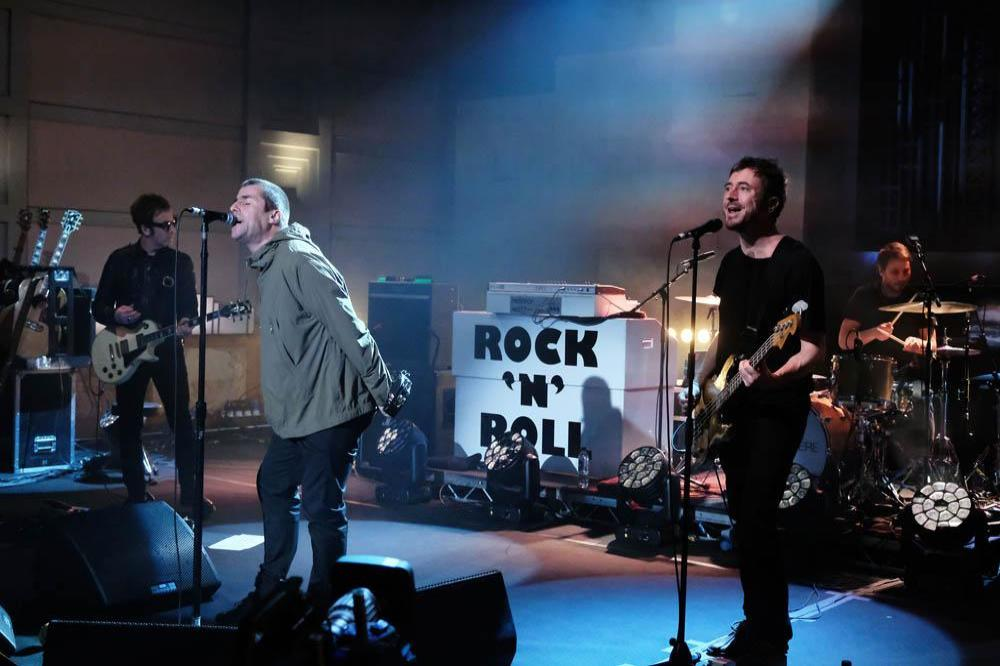 Liam Gallagher Dusts Off Oasis Rockin Chair For Bbc