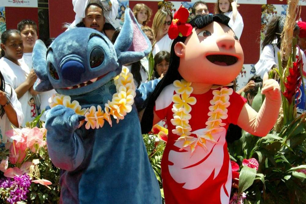 Lilo and Stitch from the 2002 movie premiere