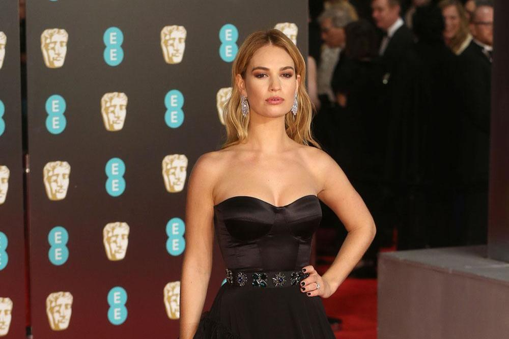 Lily james married