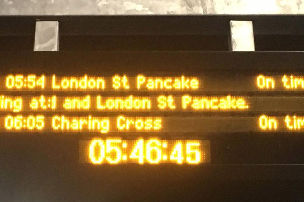 London St Pancake (c) Twitter