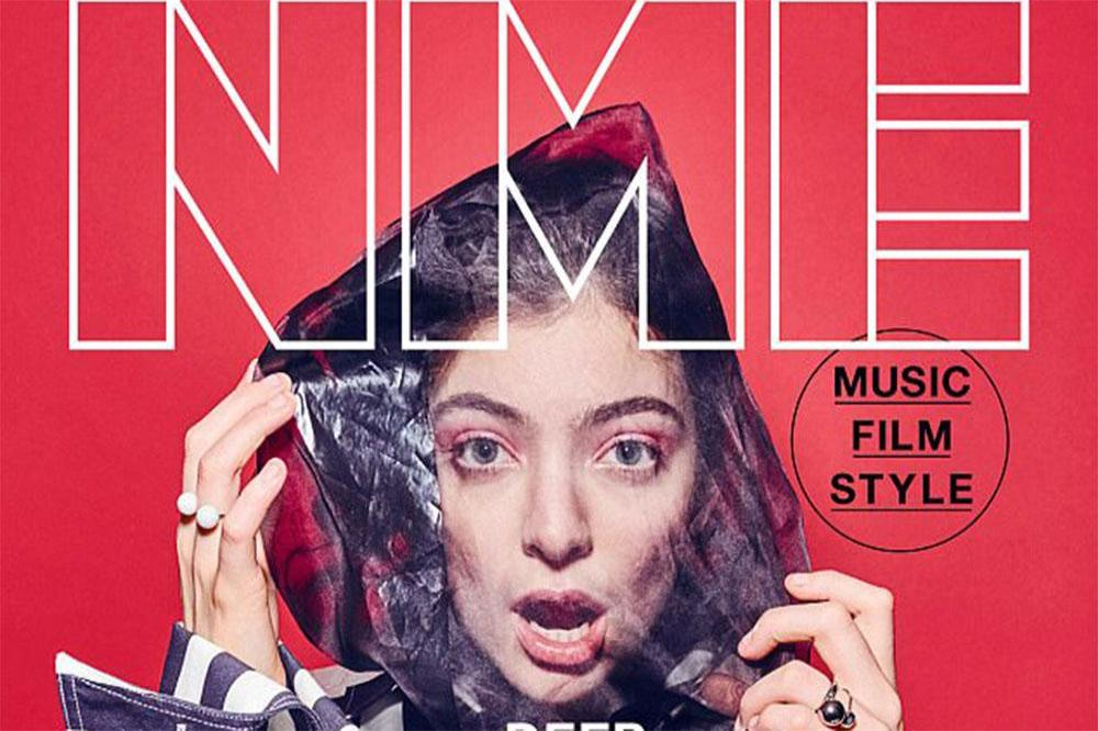 Lorde for NME magazine