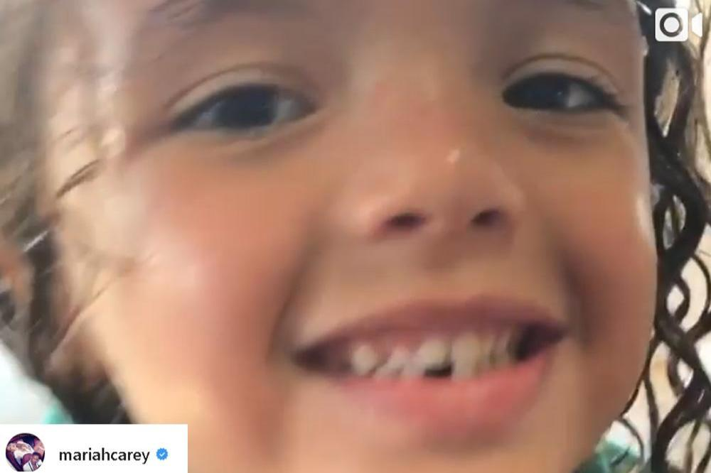 Mariah Carey's son Moroccan on Instagram
