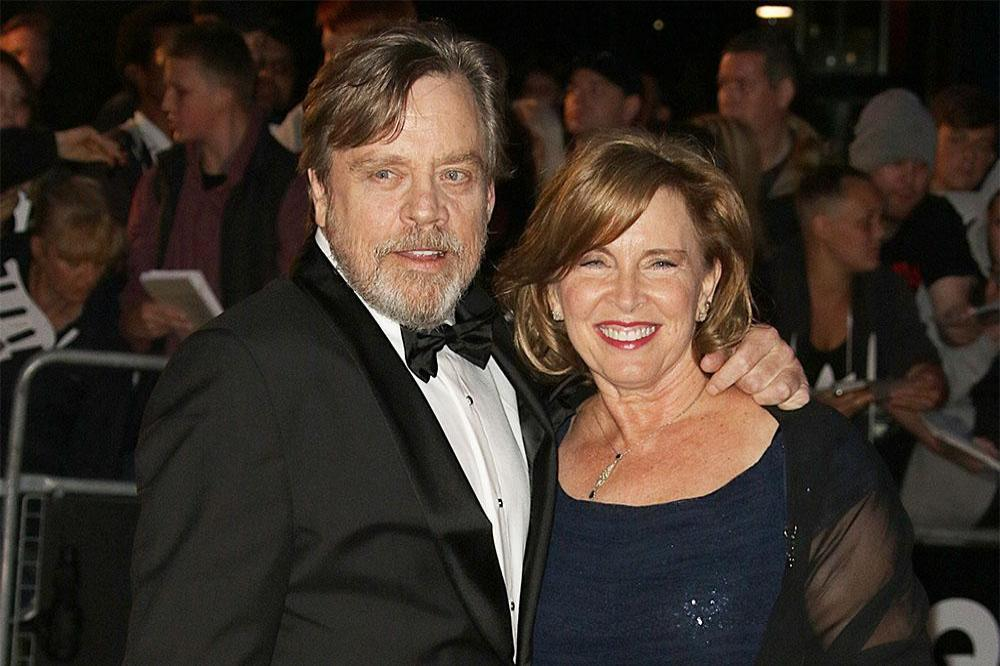 Mark Hamill and his wife Marilou York