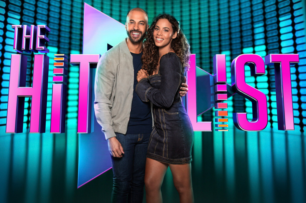 Marvin and Rochelle Humes for 'The Hit List'