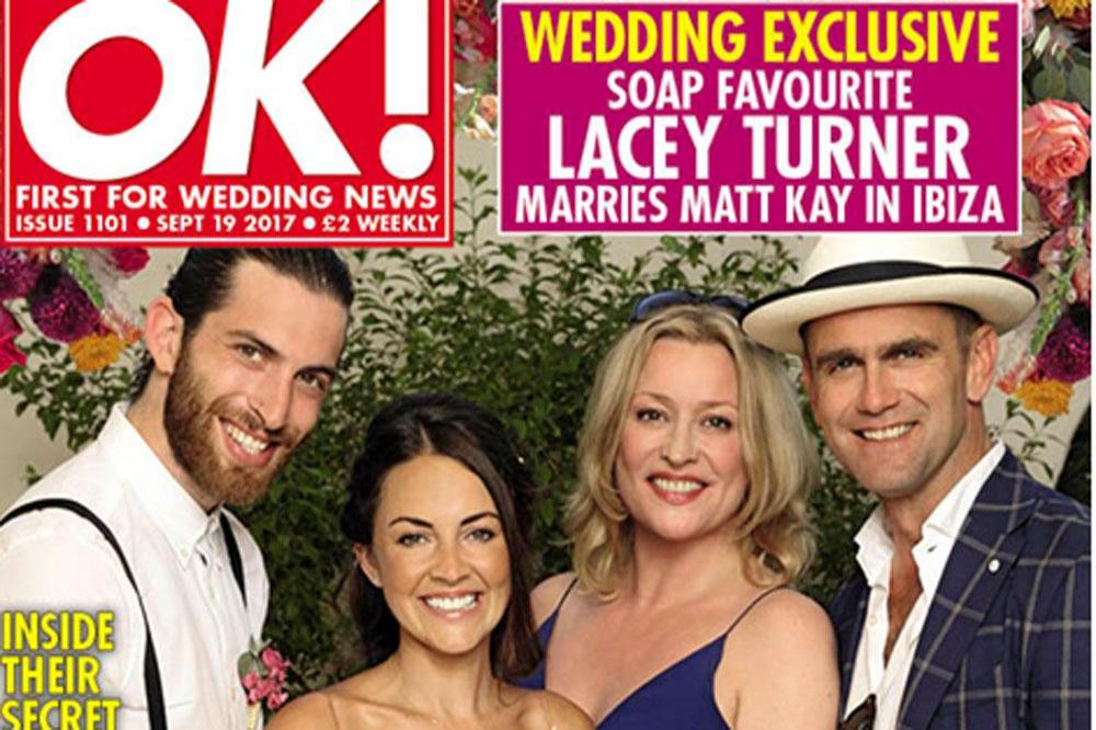 Matt Kay, Lacey Turner, Laurie Brett and Scott Maslen