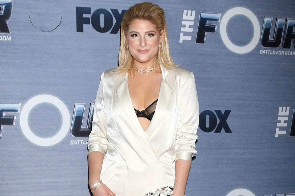 Meghan trainors wedding look inspired by the kardashians and margot meghan trainor publicscrutiny Choice Image
