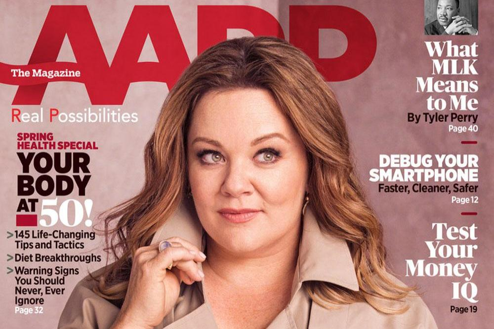 Melissa McCarthy on AARP cover