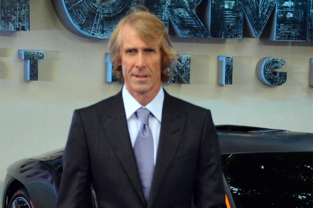 Michael Bay at the Transformers: The Last Night premiere