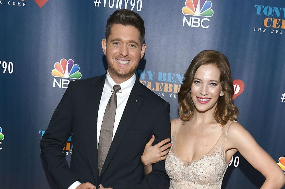 Michael Bublé and his wife Luisana