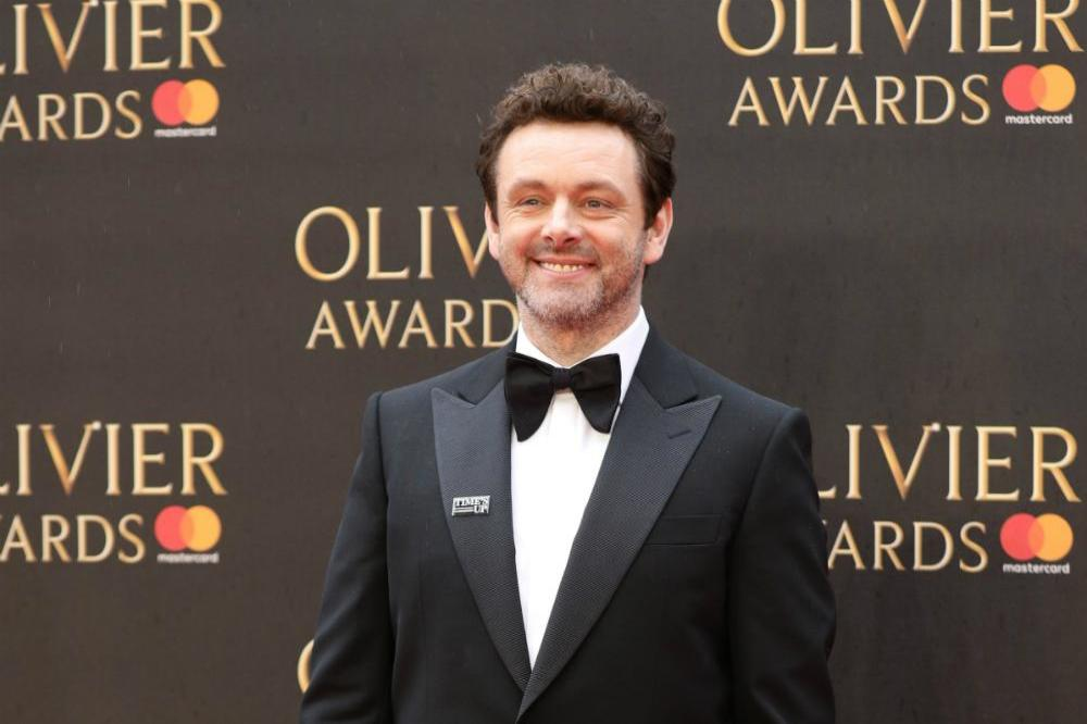 Michael Sheen at the Olivier Awards