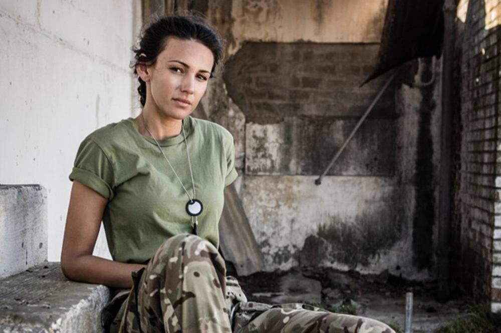 Michelle Keegan in 'Our Girl'