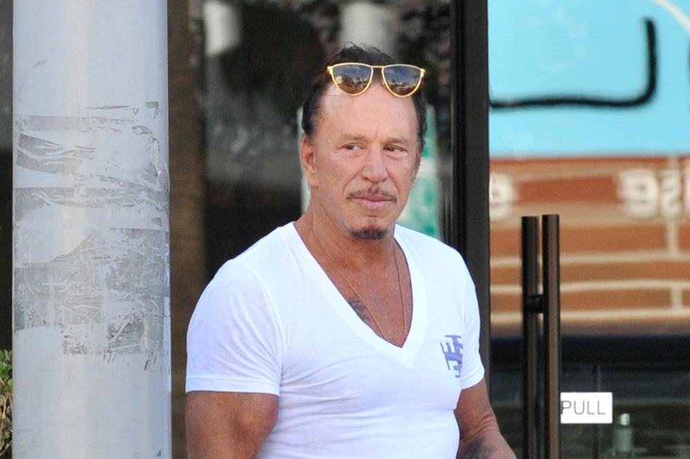 Mickey Rourke's Dog Stopped Him Committing Suicide