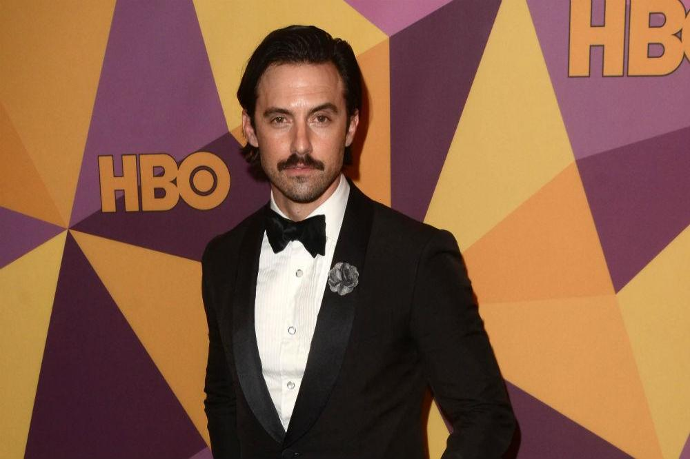 Milo Ventimiglia at HBO's Golden Globes after party