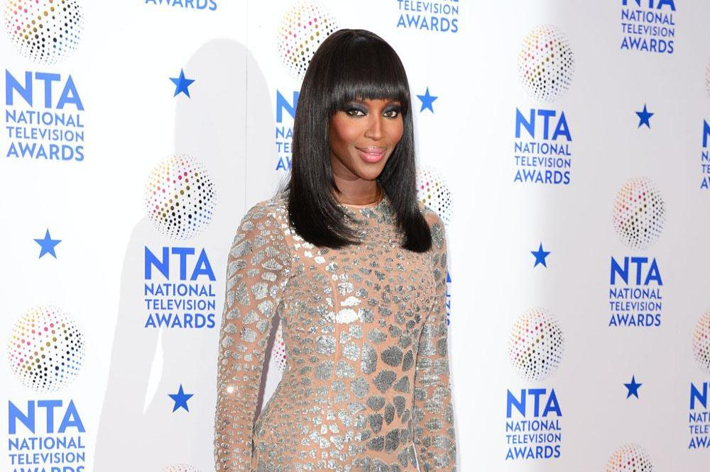 Naomi Campbell practises pilates every morning.