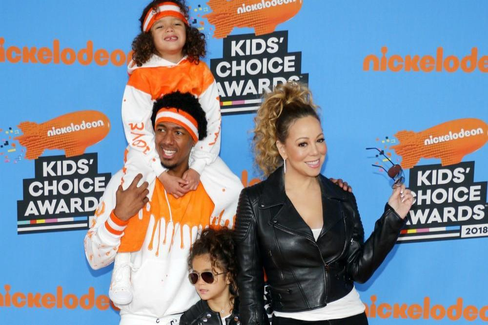 Nick Cannon, Mariah Carey and their twins