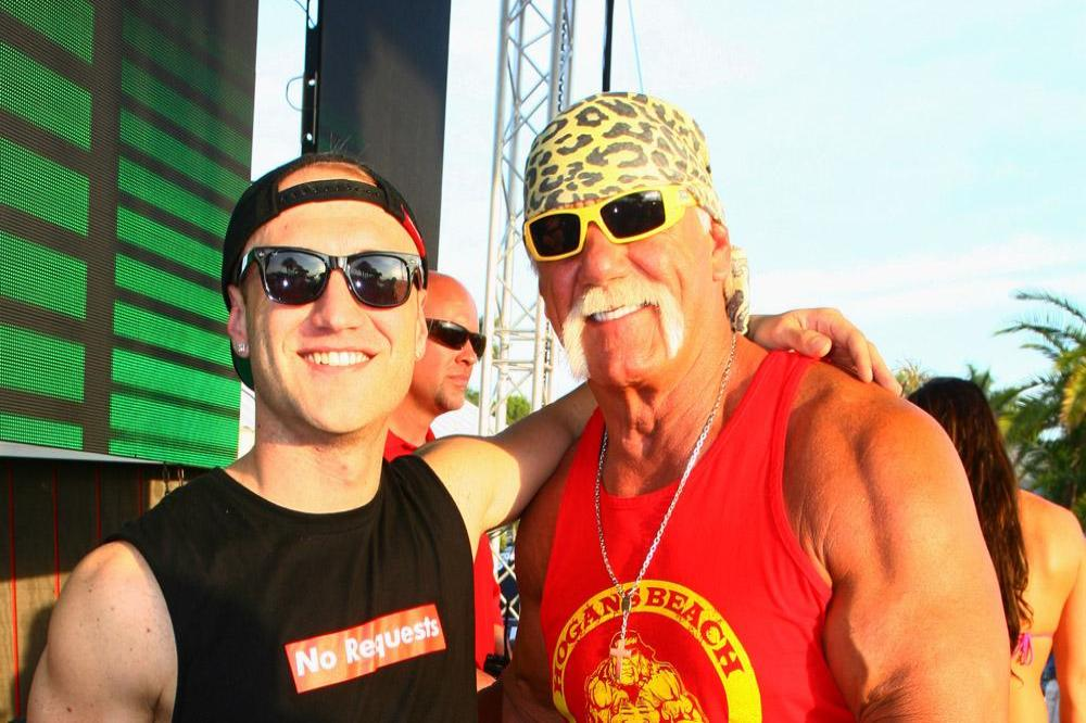 Nick Hogan and Hulk Hogan