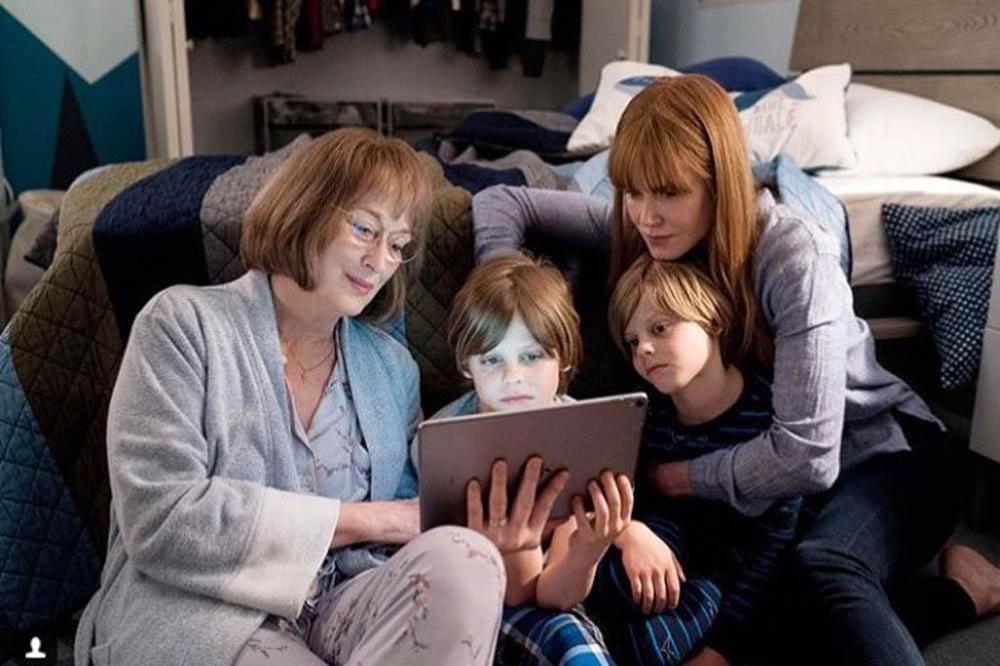 Nicole Kidman joined by Meryl Streep on Big Little Lies