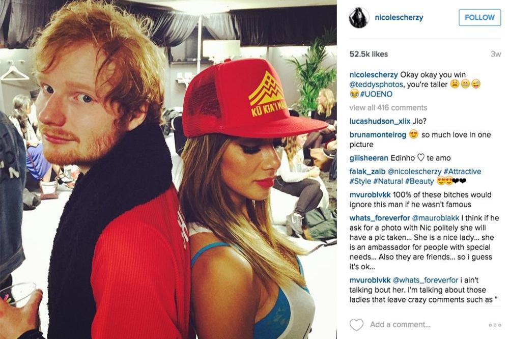 Ed sheeran and dating