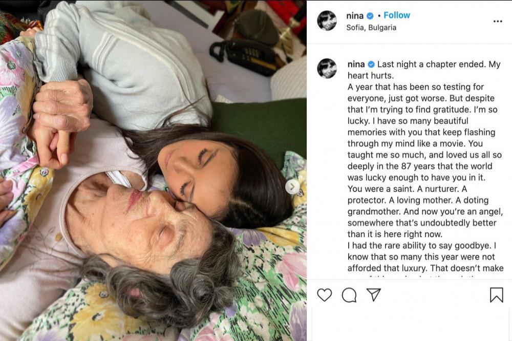 Nina Dobrev's Instagram (c) post