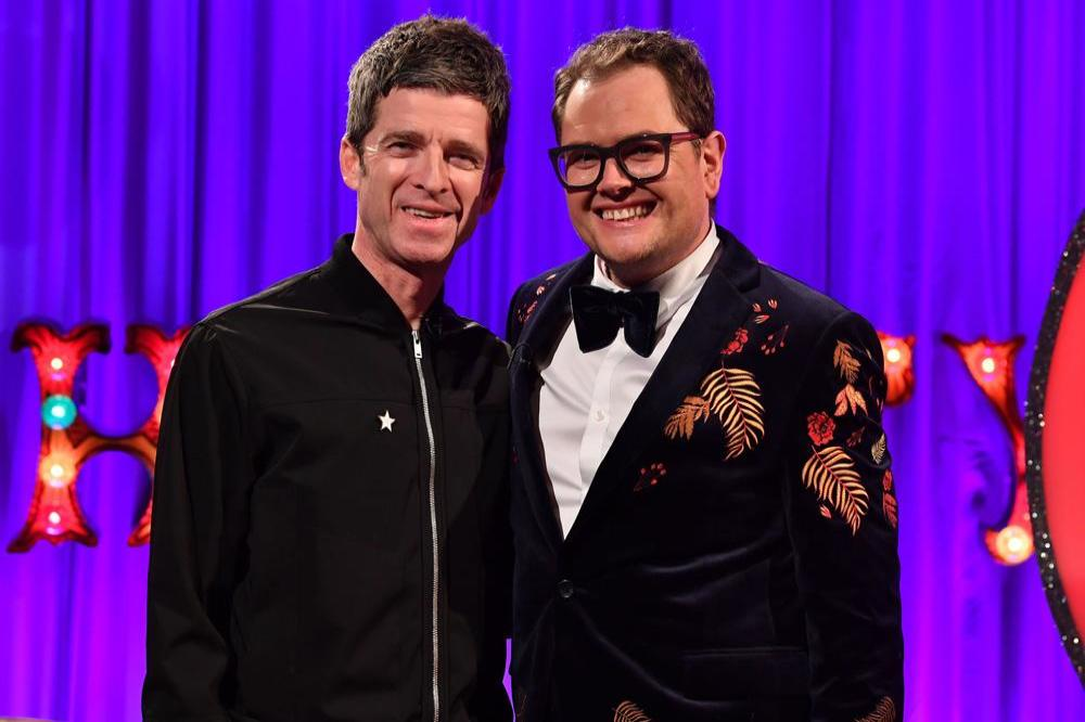 Noel Gallagher and Alan Carr