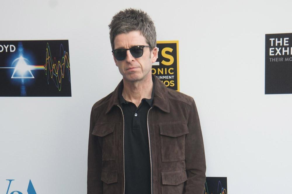 Noel Gallagher with family