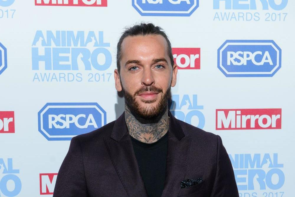 Pete Wicks at the Animal Hero Awards