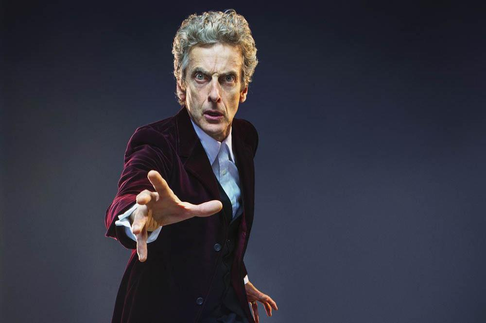 Peter Capaldi as the Twelfth Time Lord
