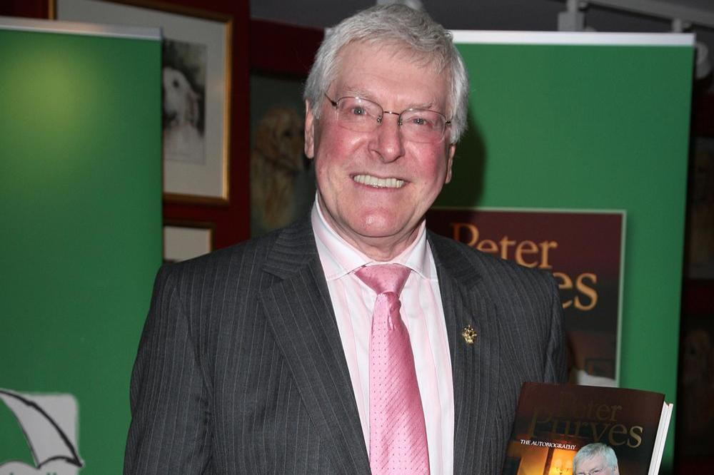Peter Purves, a former Blue Peter presenter
