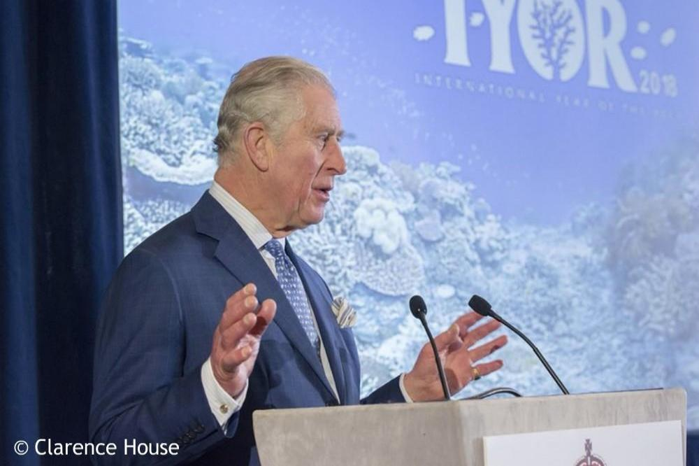 Prince Charles at the IYOR meeting via Clarence House Twitter (c)