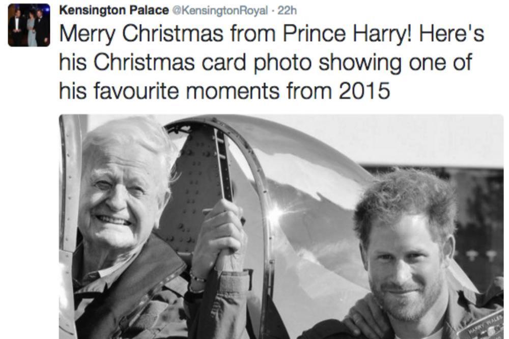 Prince Harry's Christmas Card Revealed