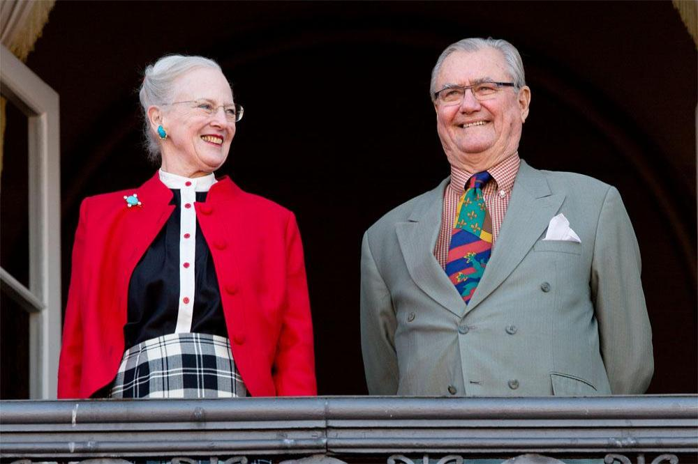 Queen Margrethe II and Prince Henrik