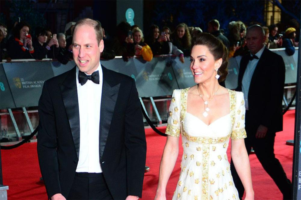 Prince William and Duchess Catherine at the BAFTA Awards