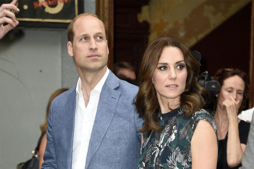 Prince William and the Duchess