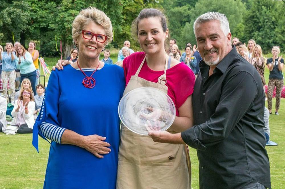 Prue Leith, Sophie Faldo and Paul Hollywood