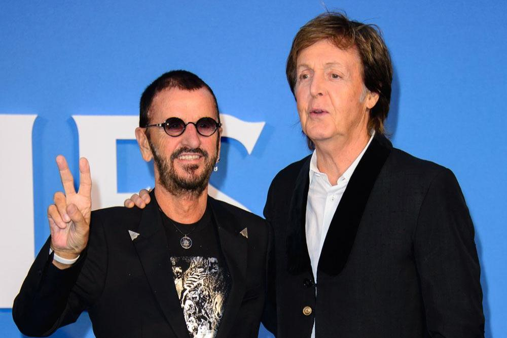 Sir Ringo Starr And Paul McCartney