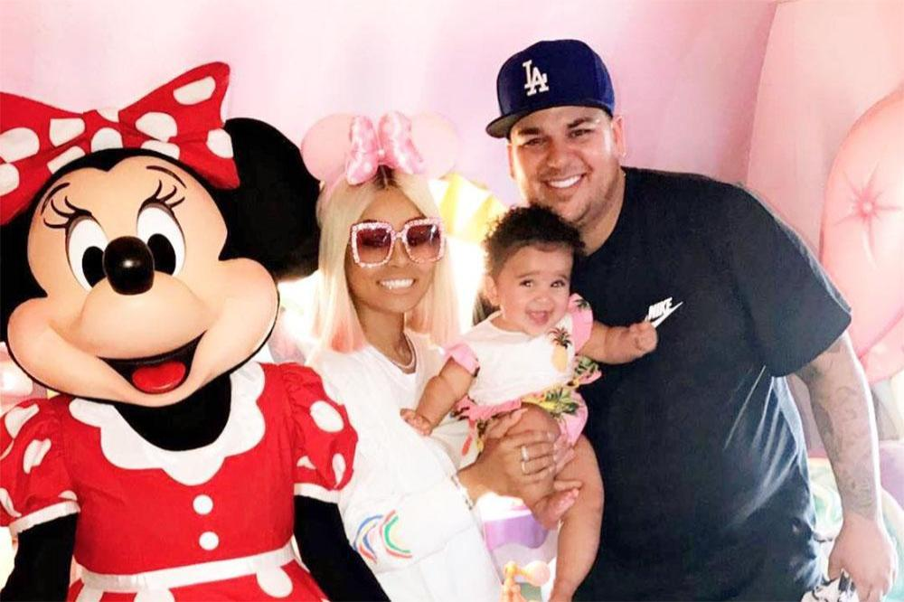 Rob Kardashian, Blac Chyna and their daughter Dream