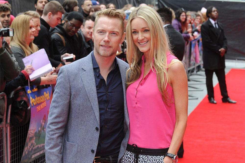 Ronan Keating and new wife Storm