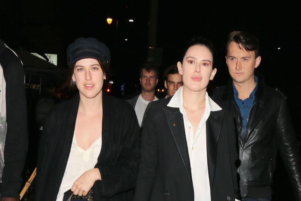 Rumer and Tallulah Willis