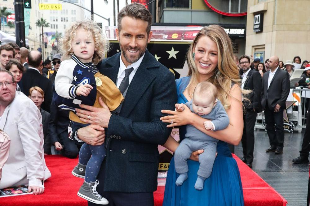Ryan Reynolds, Blake Lively, and their daughters