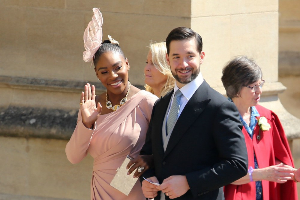Serena signs Olympia up for tennis lessons